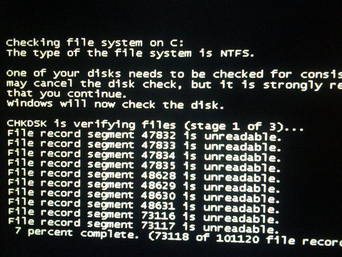 关闭磁盘自检-55gY